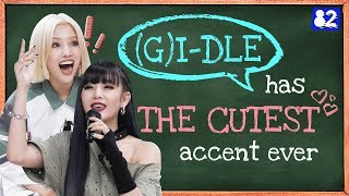 (G)I-DLE (여자)아이들 | Portuguese Tongue Twister Reading Challenge!