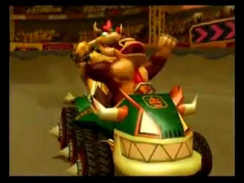 Mario Kart Double Dash Bowser Amp Donkey Kong Flower