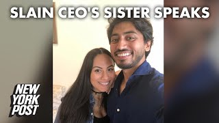 Sister of murdered tech CEO Fahim Saleh says he was 'put back together' for funeral | New York Post