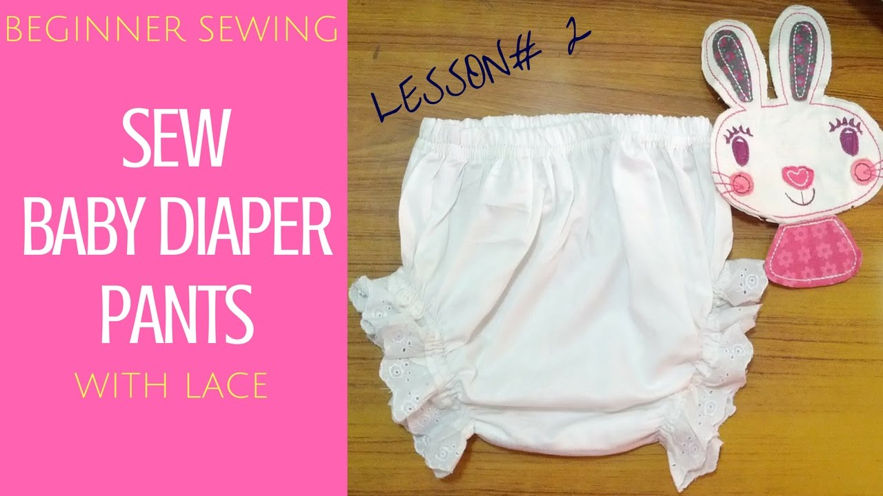 How to Make Baby Diaper Pants with Bloomer Touch - Free Pattern ...