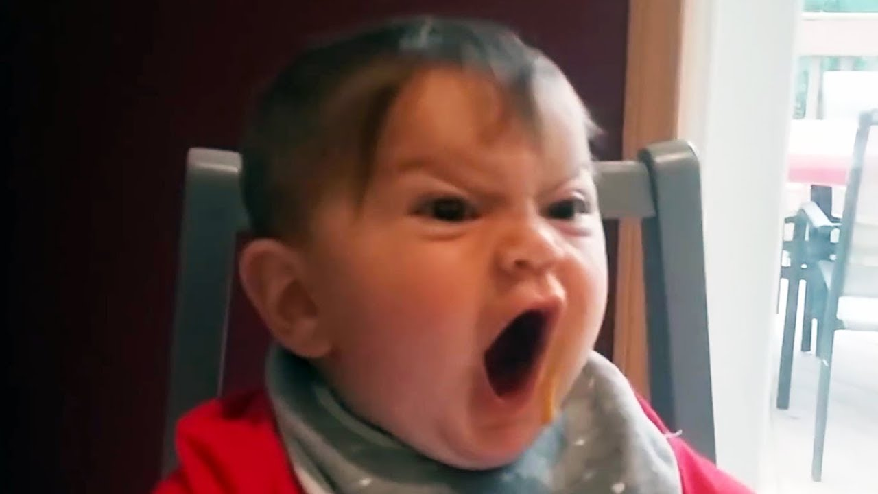 Hilarious Babies And Toddlers Trying To Get Angry Face Lots Of