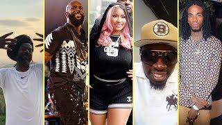 Buju Banton Gets Serious W@rning + Alkaline Speaks Out & Nicki Minaj Defends Buju Banton