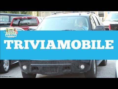 SUV Rental for the Buzztime Beers & Brains Trivia Tour