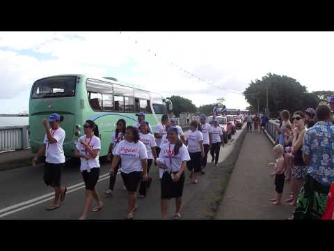Samoa Rugby Parade August 2011