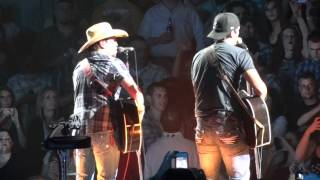Luke Bryan and Jason Aldean-We Rode in Trucks-Moline,IL