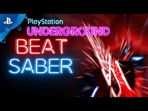 Beat Saber PS VR Gameplay | PlayStation Underground