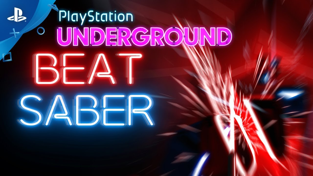 Beat Saber Ps Vr Gameplay Playstation Underground Youtube
