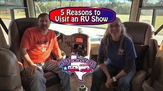 RV Tips: 5 Reasons to Visit an RV Show | RV Texas