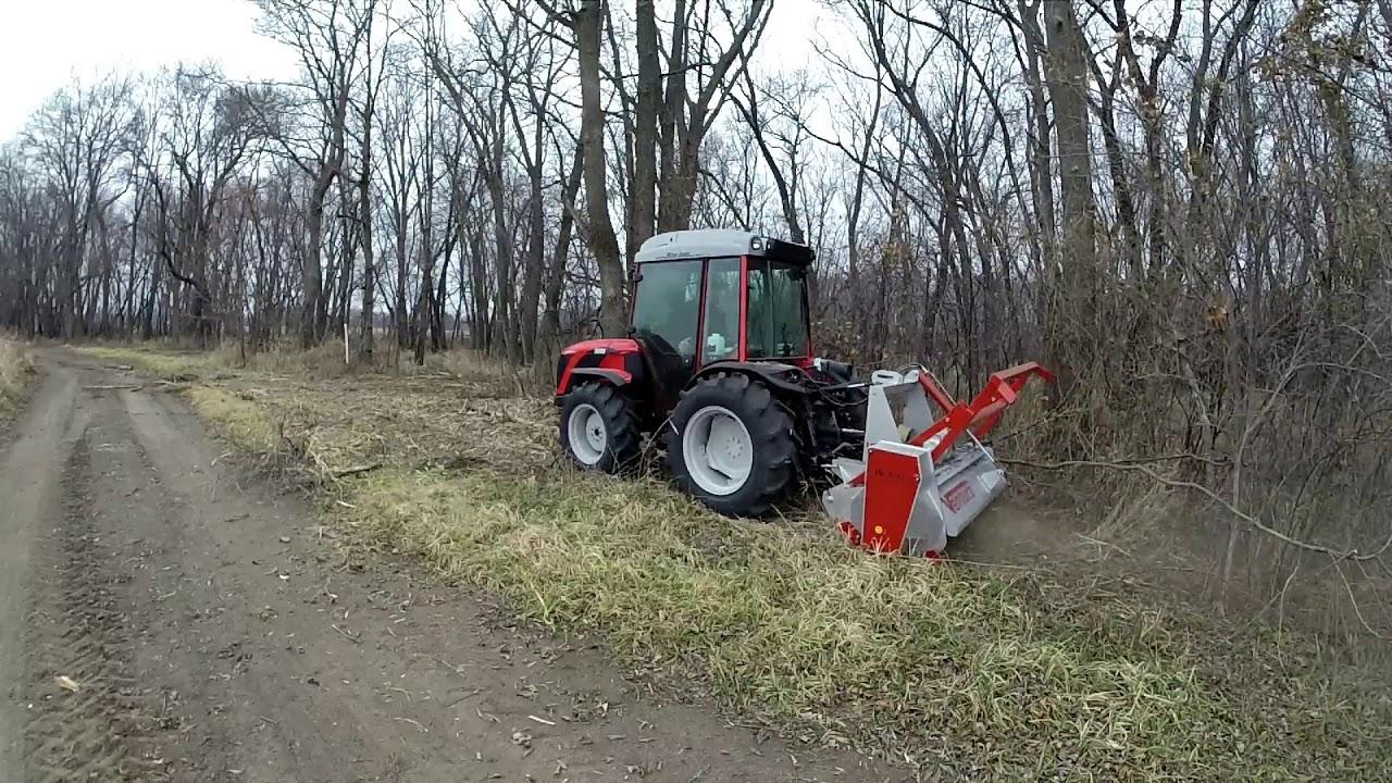 Severe Duty Forestry Mulcher, Tractor 3-Point: Ventura TFVJ-150, 60