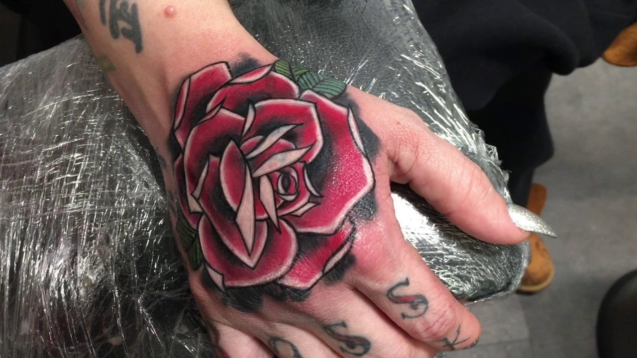 Rose Tattoo Cover Up: Cover Up Rose