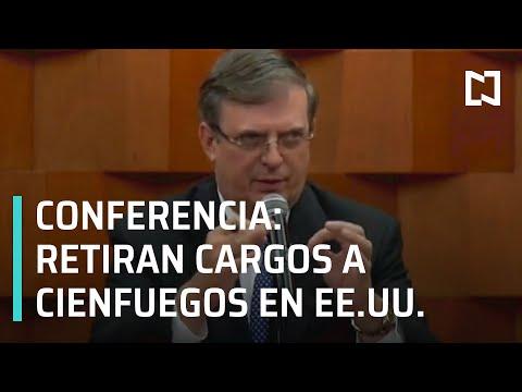 Estados Unidos retira cargos contra Salvador Cienfuegos, para poder ser juzgado en México.