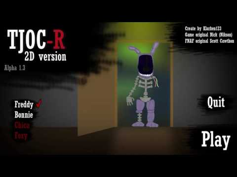TjocR 2D verzion fnaf fan game moje prve video