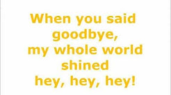 Michael Buble - It's a Beautiful Day (lyrics on screen)