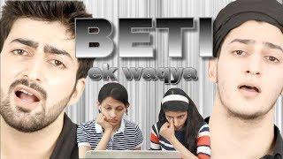 Download lagu BETI - EK WAQYA | INDIAN SISTERS REACTION | Danish F Dar | Dawar Farooq
