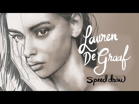Speedpaint: Lauren De Graaf