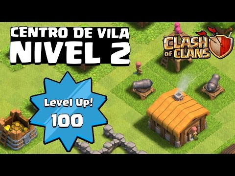 HACK??? NIVEL 2 COM MAIS LEVEL 100+   |   CLASH OF CLANS CURIOSIDADES 2016