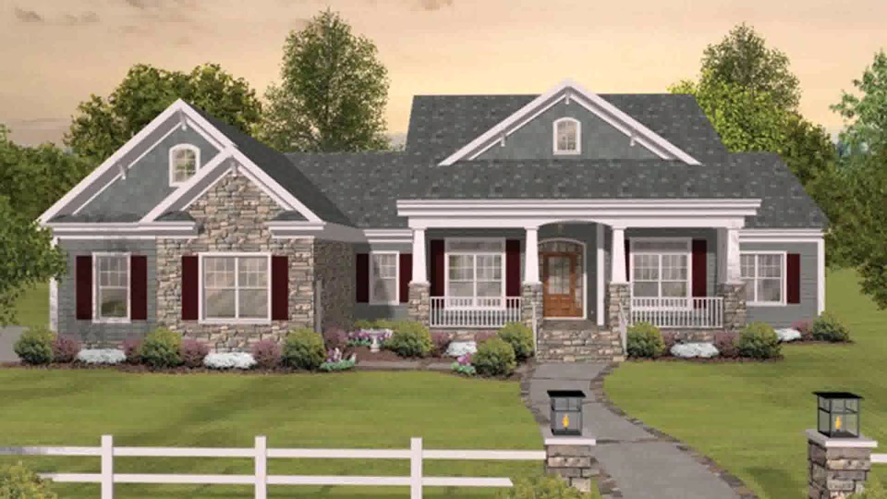 Mediterranean House Plans With Porte Cochere Youtube