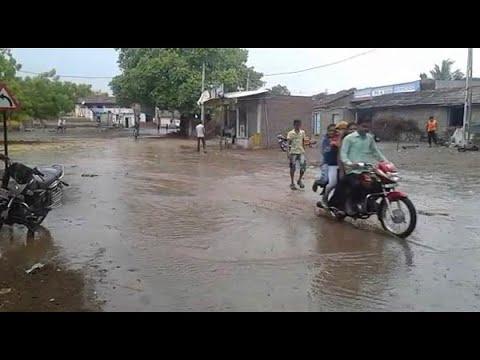 Heavy Rain In Amreli District, Rain In Savarkundla And Other City