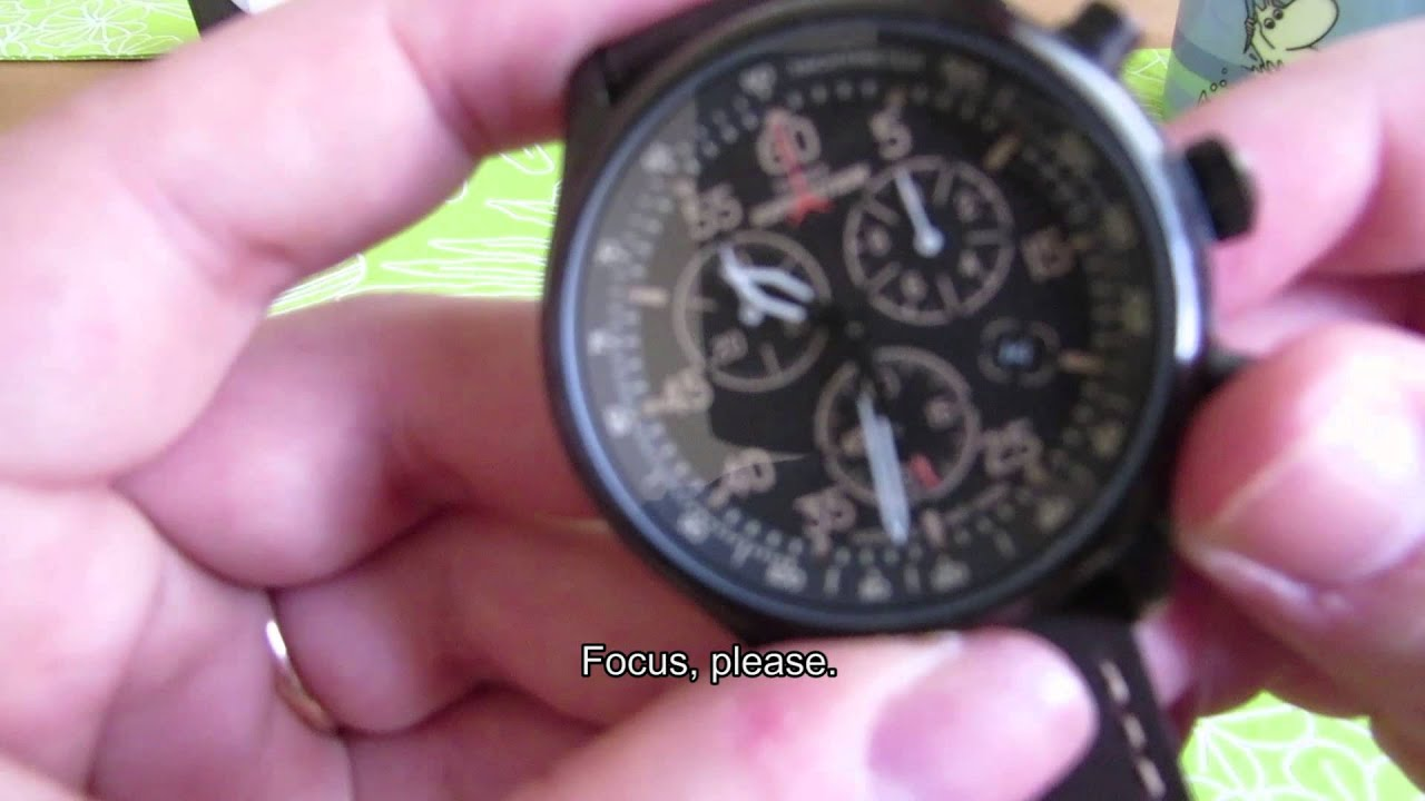 fb784c325f35 Timex Expedition Field Chronograph Review  SUBTITLED  - YouTube