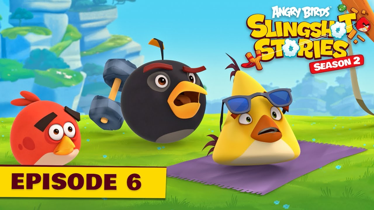 Angry Birds Slingshot Stories S2 | Power-Up Ep 6.