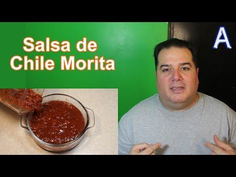 Salsa de Chile Morita con Jitomate para tacos. 🇲🇽 Recetas Mexicanas Picantes, faciles y economicas
