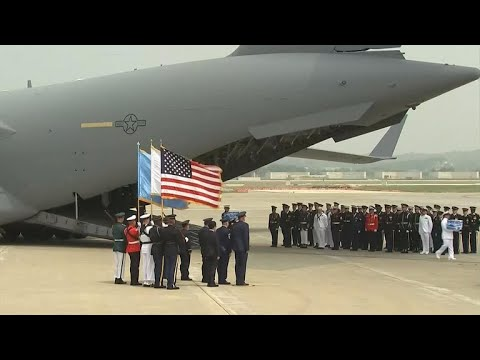 North Korea returns possible remains of U.S. soldiers from Korean War