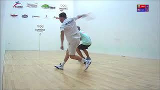 2017 Racquetball Pan Am Championships - Men's Singles Semifinal - Landa MEX vs Acuña CRC
