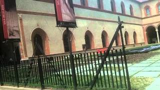 Замок в Милане + парк отдыха Италия(Италия Замок в Милане., 2012-06-05T05:33:23.000Z)