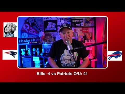Buffalo Bills vs New England Patriots NFL Pick and Prediction Sunday 11/01/20 Week 8 NFL  PickDawgz