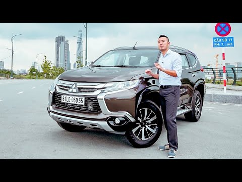 XEHAY - Đánh Giá Chi Tiết Xe Mitsubishi Pajero Sport Máy Dầu Giá Hơn 1 Tỷ