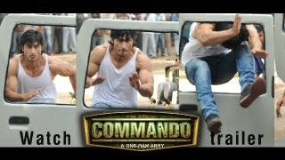 Commando Making Of The Action