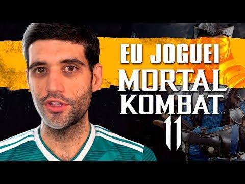 Mortal Kombat 11 - Eu já JOGUEI, todas as novidades e minhas impressões do novo jogo thumbnail