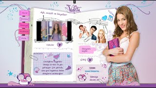 VIOLETTA Disney ♥ Los Diarios De Violetta   Violetta's Diaries
