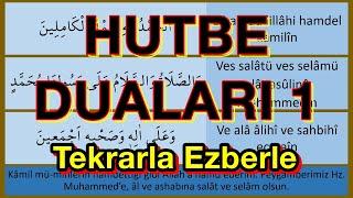 Hutbe Duaları 1 (yeni ezberleyenler için)