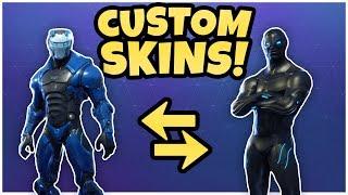*UPDATED* Fully CUSTOM Dark Carbide Skin! (MODDED SKINS) Fortnite Battle Royale