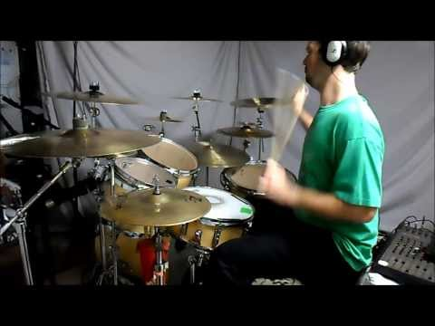 IRON MAIDEN - The Duellists - drum cover