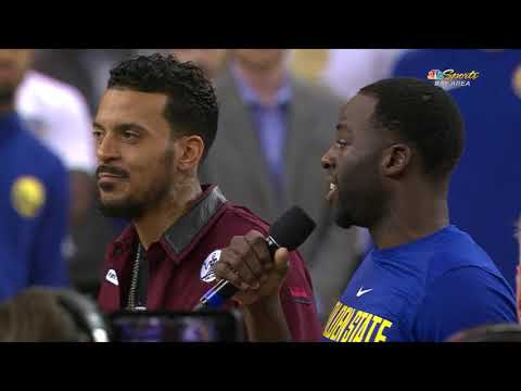 Matt Barnes Receives His Championship Ring