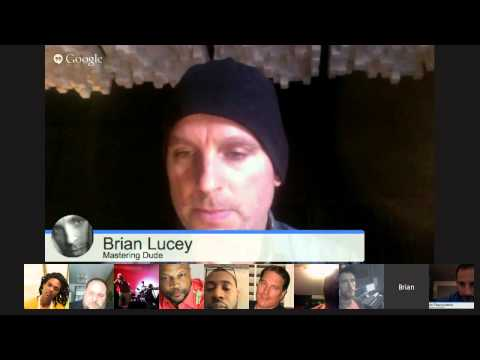Grammy winning Brian Lucey (Mastering Engineer/Musician): Marilyn Manson, Chet Faker, New Grace P...