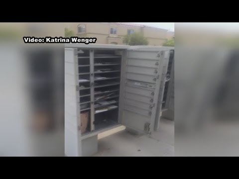 Woman Catches Mailboxes Left Open By Carrier