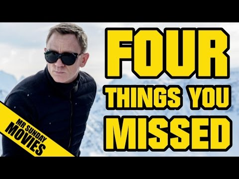 SPECTRE Trailer - Easter Eggs, References & Things You Missed