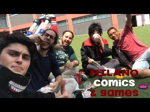 COSPLAY E DELIRIO AL MILANO COMICS & GAMES 2017