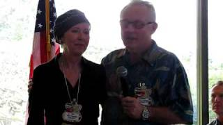 Pam Chambers Thanked For Running Rotary Works Program
