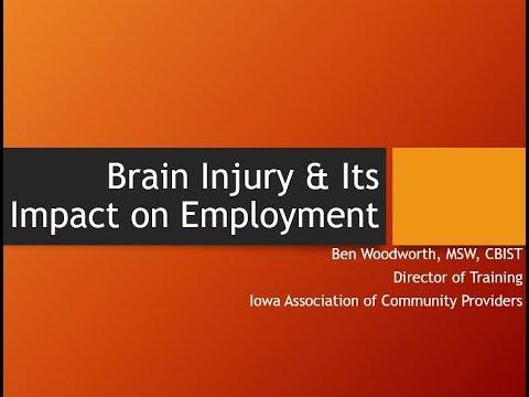 Module VI: TBI & Employment