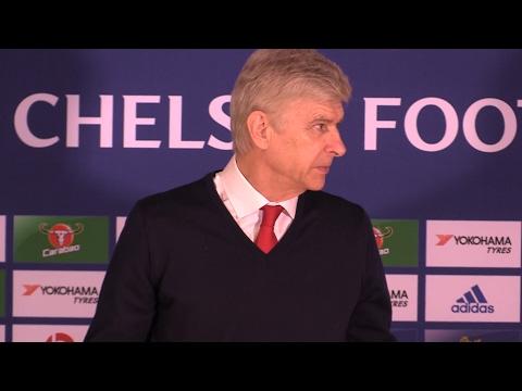 Chelsea 3-1 Arsenal - Arsene Wenger Full Post Match Press Conference