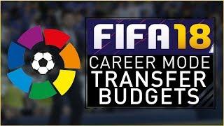 FIFA 18 Career Mode - LA LIGA TRANSFER BUDGETS!!