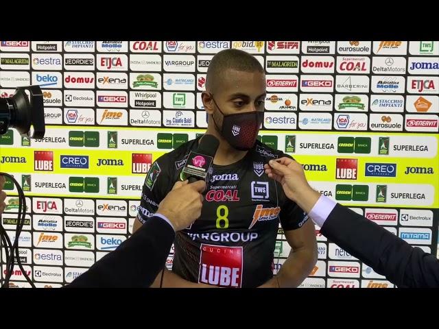 Lucarelli, Simon e Blengini dopo la sconfitta con Piacenza!