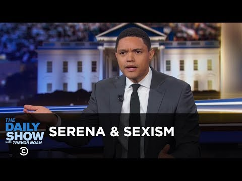 Serena Williams & Sexism in Sports - Between the Scenes | The Daily Show thumbnail