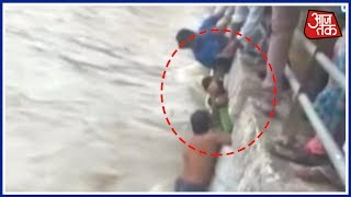 Operation On To Rescue Kid Stuck In Mumbai's Pond