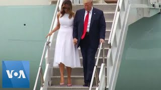 Trump Arrives in Florida Ahead of