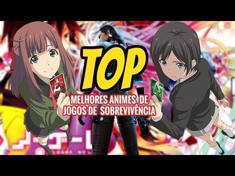 Top Animes de Jogos de Sobrevivencia